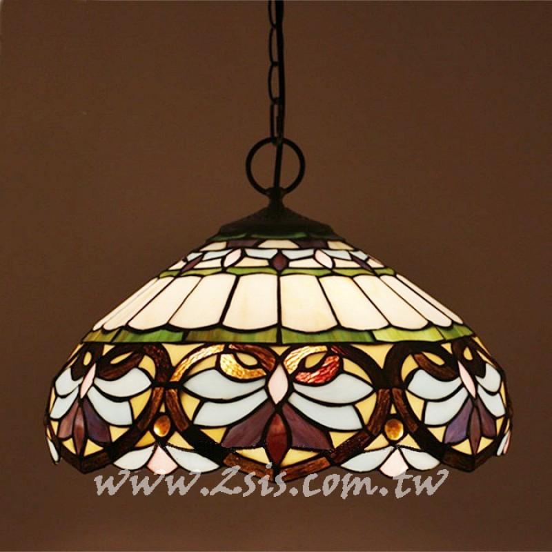 第凡內彩繪玻璃吊燈-巴洛克